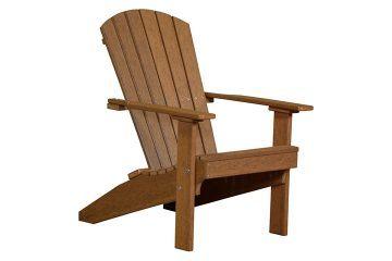 LACAM Lakeside Adirondack Chair Antique Mahogany copy