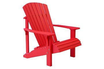 PDACR Deluxe Adirondack Chair Red