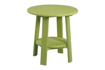 PDETLG Deluxe End Table All Lime Green