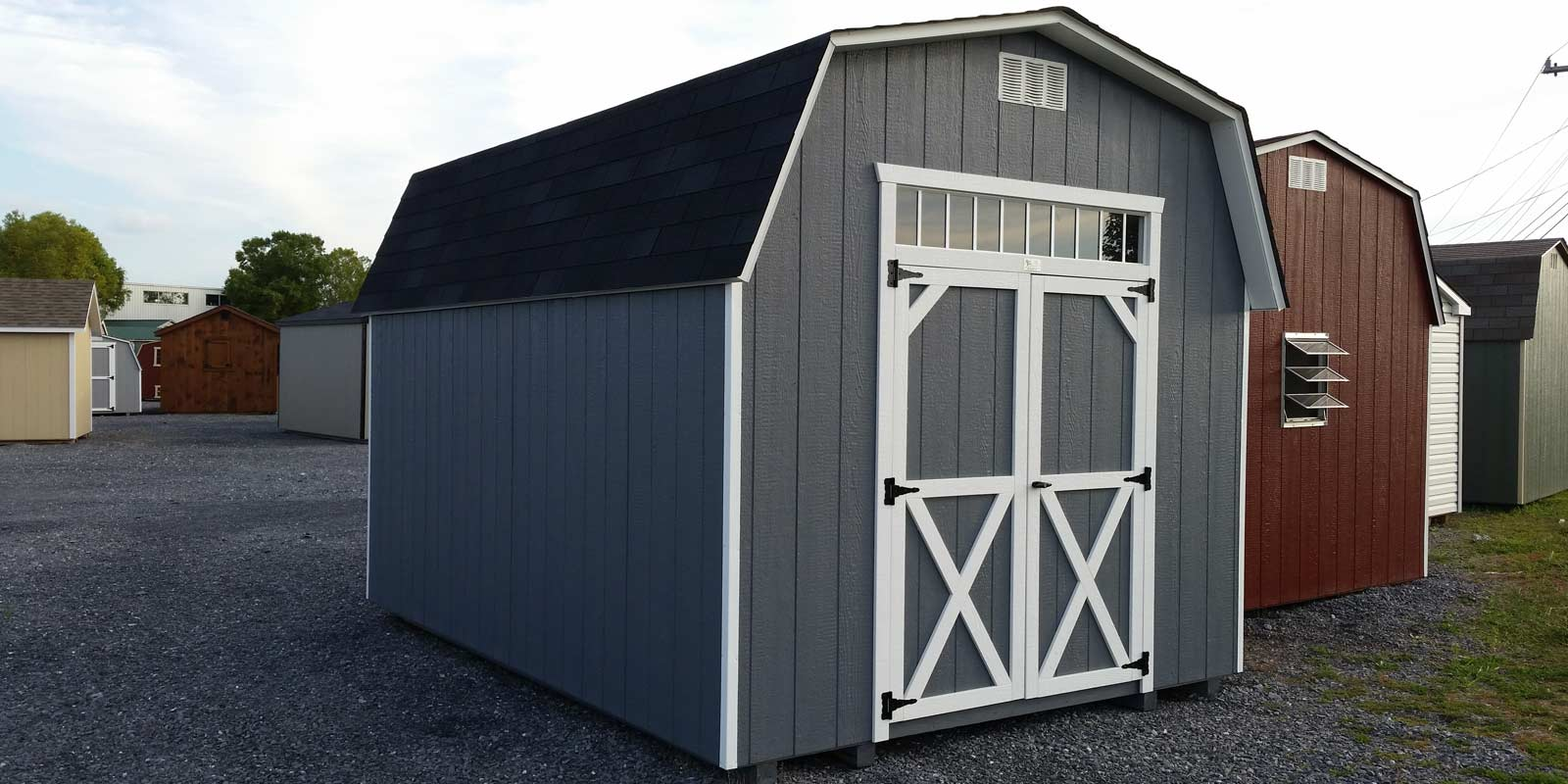 The best Siding for you Storage Shed