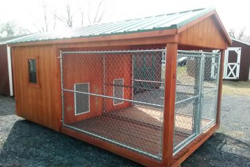 FR065  8'x14′ Double Kennel