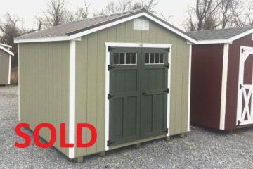 S227  10'x10′ Classic Cottage