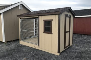 H838  6'x10′ Dog Kennel