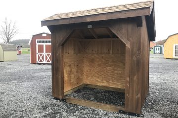H825  6'x8′ Wood Shed
