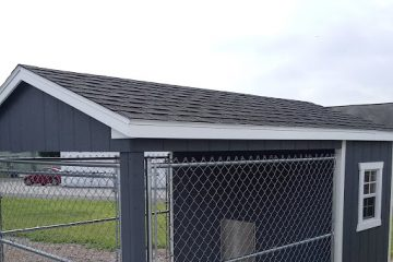 FR344  8'x12′ Dog Kennel