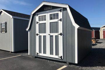 H962  8'x10′ Classic Swiss Barn