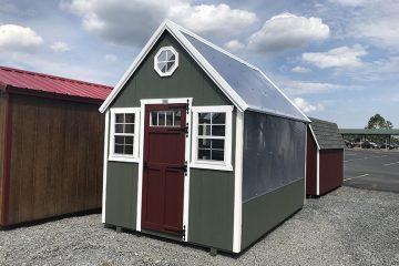 H981  8'x12′ Greenhouse
