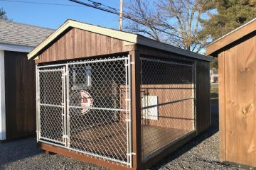 H108  8'x12′ Dog Kennel