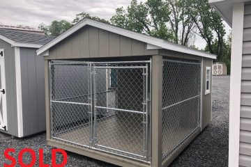 S410  8'x12′ Dog Kennel