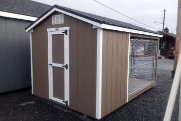FR447  8'x12′ Dog Kennel