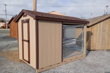 FR512  6'x10′ Dog Kennel