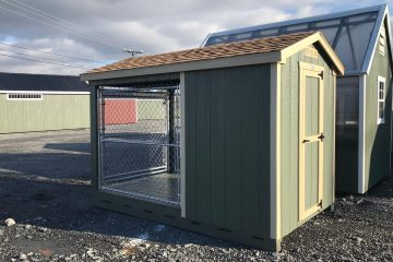 H122  6'x10′ Dog Kennel