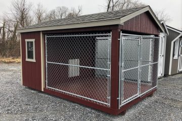 S373  8'x12′ Dog Kennel