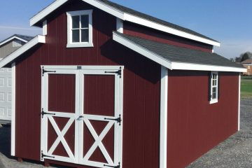 12×20 Monitor-Barn Red