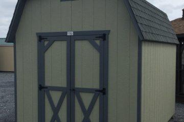 H933 8x12x6 Classic Barn-Moss