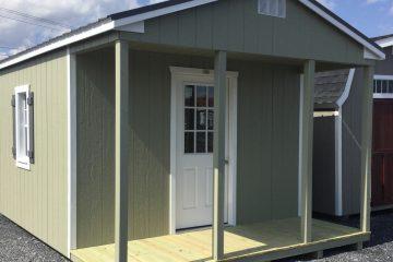 12x16x8 Classic Cottage w/ Porch H149