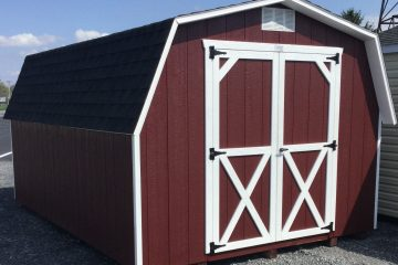 10x14x4 Classic Barn-Red H151