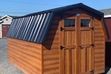 (sold) 8x12x4 Classic Barn-Shiplap H249