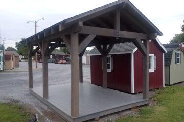 FR632 10'x16′ Pavilion w/ Platform