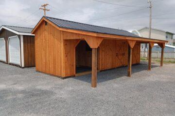 FR734 10'x30'x8′ Horse Shelter